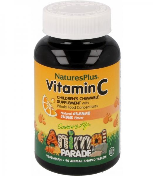 Animal Parade® Vitamin C, 125 mg