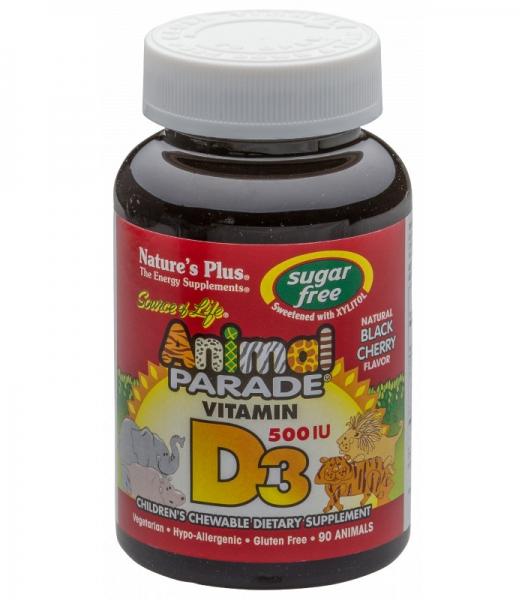 Animal Parade® Vitamin D3 500 IU Sugarfree