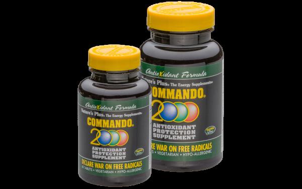 Commando® 2000 Umfassende Antioxidantien-Mischung